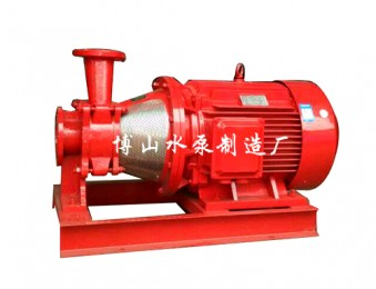 XBD-BHY(L)系列卧式单级消防切线泵组
